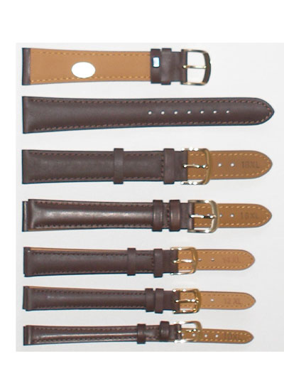 Watch Band - Thick Brown XL Leather
